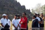 Presiden: Penataan empat destinasi wisata prioritas tuntas 2020