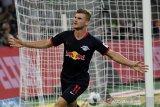 Werner mengemas tiga gol antarkan Leipzig pecundangi Gladbach