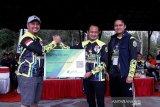 BPJS Ketenagakerjaan manfaatkan lomba sepeda gunung di Palangka Raya sebagai sarana sosialisasi