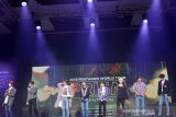 Grup K-pop Pentagon nyanyikan lebih 20 lagu dalam konser