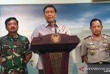 Papua Terkini - Sepuluh pucuk senjata hilang di Papua telah ditemukan