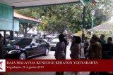 VIDEO: Raja Malaysia kunjungi Keraton Yogyakarta