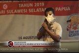 Peserta SMN Sulsel belajar budaya dan alat musik tradisional Papua