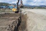 Pembangunan Fly Over Pantoloan dikebut, arus lalulintas dialihkan