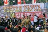 Warga Papua gelar musik Yospan Papua jalin persatuan