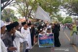 Ratusan pelajar pawai 1 Muharram di Wotu Luwu Timur