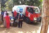 11 desa kekeringan, PMI Banjarnegara salurkan air bersih