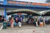 Penerbangan kembali terganggu di Sampit akibat kabut asap