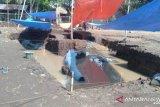 Perahu kuno yang ditemukan di Jambi berusia 700 tahun