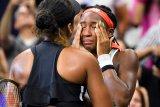 Coco Gauff berurai air mata tersingkir dari ajang Australia Open