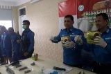 BNNP gagalkan peredaran 3 kg sabu dan 1.200 butir pil ekstasi asal Aceh di wilayah Lampung