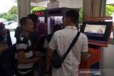 Mesin cetak tiket di Stasiun Purwokerto bermasalah