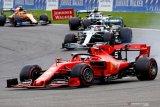 Vettel berjasa atas kemenangan Leclerc di Spa