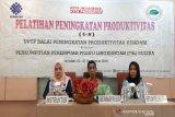 BPP menggelar pelatihan peningkatan produktivitas pelaku UMKM di Kendari