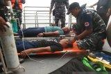 SAR latihan evakuasi kapal terbakar di Perairan Dumai