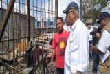 Papua Terkini - Menteri PUPR tinjau bangunan terbakar di  Kota Jayapura