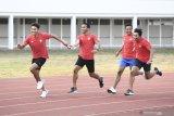 Tim estafet putra tak pasang target tinggi di SEA Games