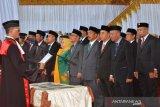 40 anggota DPRD terpilih Parigi Moutong diambil sumpah
