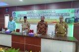 Kadiskominfops Inhil buka kegiatan penyuluhan Bahasa Indonesia bagi insan media massa