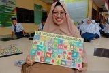 Guru di Deliserdang terapkan matematika dengan metode permainan ular tangga