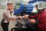 Sudah 257 warga Barito Timur terjaring razia lalu lintas