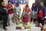 Tiga sandikat pencuri toko di Palu ditangkap polisi