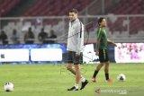 Latihan resmi Timnas jelang lawan Malaysia