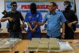 BNN  sita 30 kilogram sabu asal Malaysia, tujuan ke Kota Pekanbaru