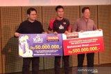 Mohammad Ahsan terima bonus Rp550 juta dari Djarum Foundation