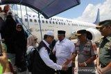 Kloter Perdana Jaamah Haji Sultra tiba di Kendari