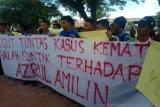 Terkait kematian pasien salah suntik di RSUD, mahasiswa demo Kantor Kejari