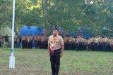 Kemah eksekutif Sultra, para bupati jadi pelaksana upacara