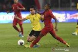 Skor sementara Indonesia vs Malaysia 2-1