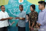 BPJS Ketenagakerjaan Palu memberikan Sukiman jari tangan baru