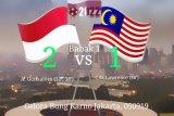 Dua gol Beto bawa Indonesia unggul  sementara  pada babak pertama