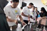 Pelni sosialisasikan layanan Check-in Mandiri di Makassar