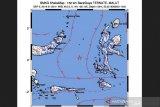 Gempa bermagnitudo 5,0 landa barat daya Ternate