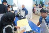Permohonan paspor  di Imigrasi Palembang menurun