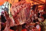 Harga daging sapi di  Baturaja capai Rp140.000 per kg