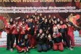 Sulsel raih 5 emas kejuaraan dunia tapak suci di Solo