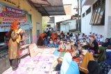 Siswa Al Muslim kampanye budaya literasi dan donasi buku