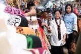 Ibu Negara kunjungi Pasar Beringharjo Yogyakarta