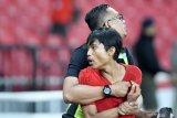 Timnas Indonesia tetap optimistis pertandingan melawan Thailand aman