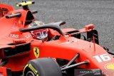 Monza diwarnai hujan, Leclerc tercepat di FP1 GP Italia