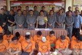 Selama Agustus, Polres OKU Timur ungkap 17 kasus kejahatan
