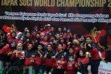 Atlet Musi Banyuasin raih emas Kejuaraan Dunia Tapak Suci