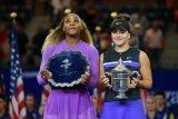 Fans Serena mendukungnya, tapi apa daya Andreescu lebih perkasa