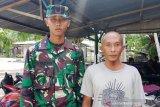 Anak penjual cendol lulus sebagai prajurit TNI