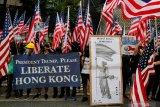 AS mengecam kekerasan terbaru Hong Kong