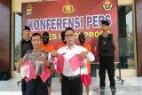 Polres Kulon Progo menangkap tiga tersangka anggota sindikat narkoba
